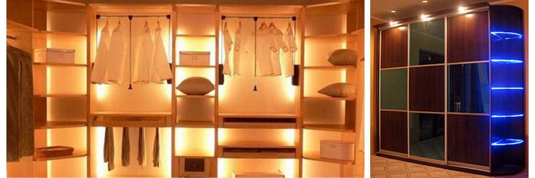 Подсветка шкафов своими руками